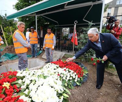 Necdet Özel, şehit tümgeneralin mezarını ziyaret etti