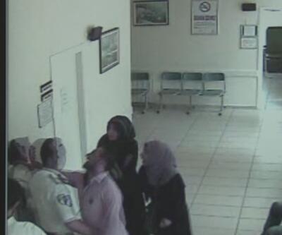 Kadın doktora makasla saldırıp yerlerde sürüklediler