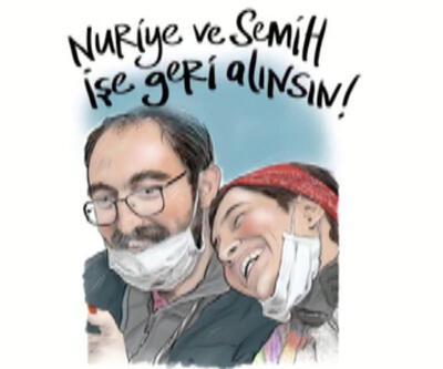Gülmen ve Özakça'ya dünyaca ünlü isimlerden destek