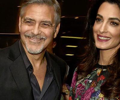 George-Amal Clooney çiftinin ikizleri dünyaya geldi