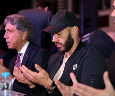 Karim Benzema iftara katıldı
