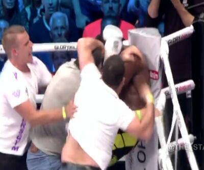 Kickboks maçında ring karıştı