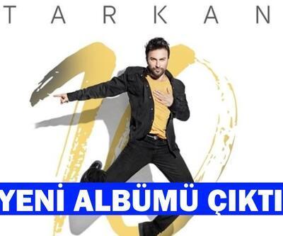 Megastar Tarkan yeni albümü 10'u piyasaya sürdü!