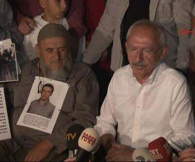 Kılıçdaroğlu, 'Adalet Yürüyüşü'nde ilk günü tamamladı