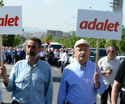 Kılıçdaroğlu'nun 'Adalet Yürüyüşü'nde dikkat çeken isimler