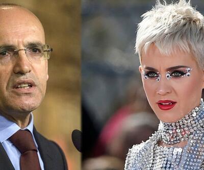 Mehmet Şimşek'ten Katy Perry'li tweet