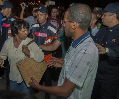 Fas'ın kuzeyinde gerginlik: Eylemciler yerlerde sürüklendi