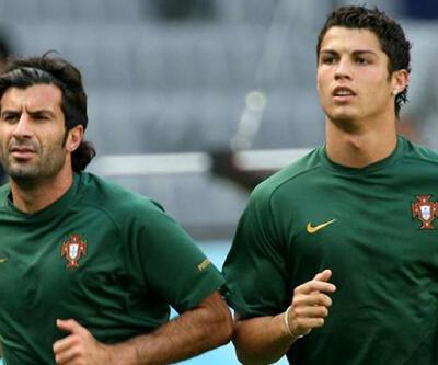 Figo'dan Ronaldo'ya mesaj
