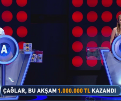 Çağlar Patır 1 milyon lira kazandı