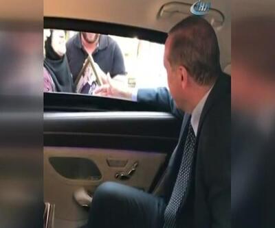 Konvoyu durdurdu Erdoğan'ı iftara davet etti