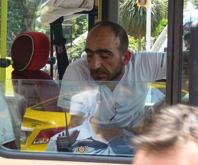 Şoför bayıldı, minibüsü yolcular durdurdu