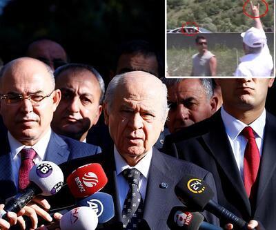 Bahçeli, Kılıçdaroğlu'nun bozkurt işaretini değerlendirdi