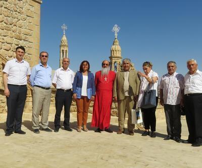 CHP'lilerden Süryani manastırına ziyaret