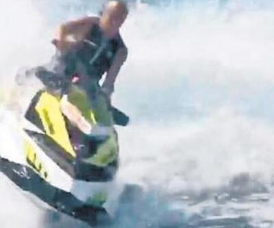 Ünlü işadamı jet ski yaparken ölümden döndü