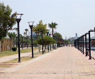 Mersin bugünlerde bir hayalet şehir!