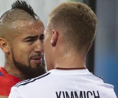 Finalde iki Bayern'li kavga etti