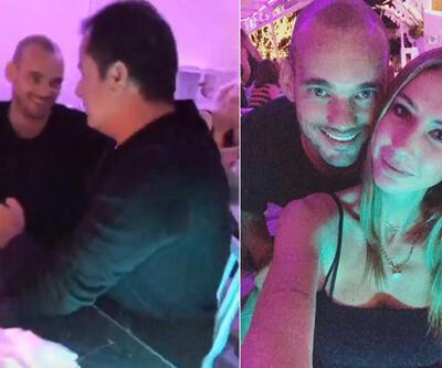 Sneijder ile Acun Ilıcalı Ibiza'da buluştu