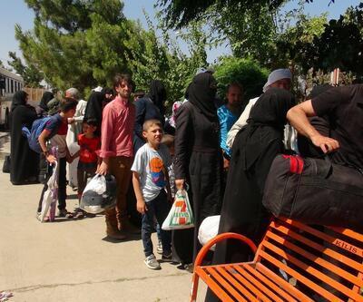 Suriyeliler bayram tatilinden dönüyor