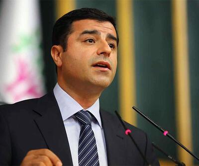 Meclis Başkanı Selahattin Demirtaş için devreye girdi