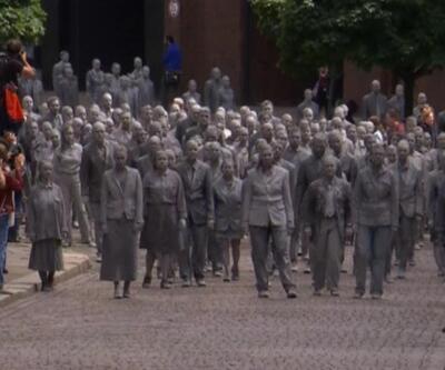 Hamburg'da zombi gösterisi