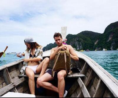 Ünlü çift Phuket'te
