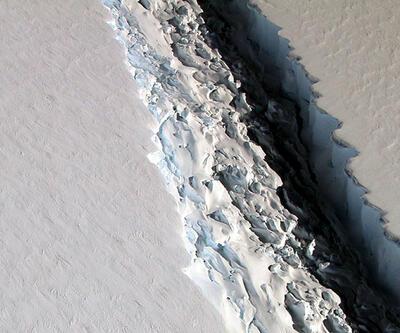 Küresel felaket... Antarktika'dan trilyon tonluk buz kütlesi koptu