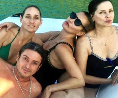 Dünyaca ünlü top model detoks tatilini Bodrum'da yapıyor