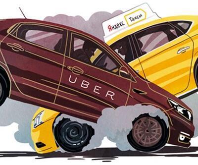 UBer ile Yandex ortak şirket kuruyor