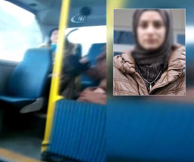 Minibüste başörtülü kıza saldıran kadın hakim karşısında