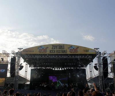 Zeytinli Rock Festivali'yle müziğe doymaya az kaldı!
