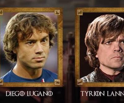 Game of Thrones karakterlerine benzeyen 10 futbolcu