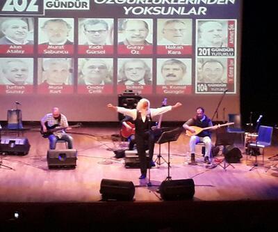 """Cumhuriyet gazetesi tutukluları için """"Adalet Nöbeti Buluşması"""""""