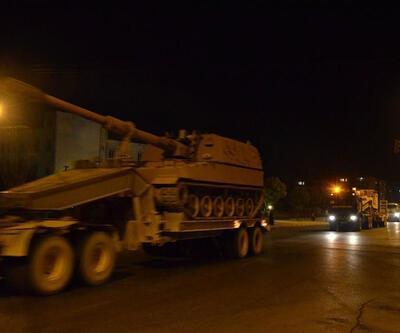 Afrin'in karşısındaki karakollara Fırtına Obüsleri konuşlandırıldı