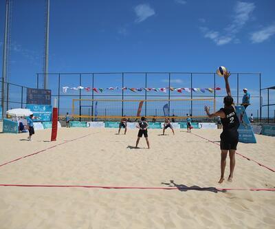 Samsun'da plaj voleybolunda üç maçı da kaybettik
