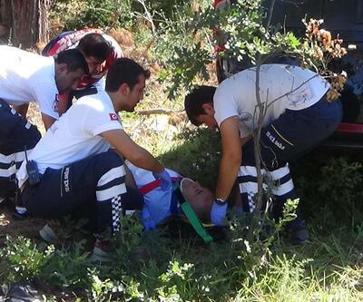 Ünlü avukat Çanakkale'de kaza yaptı