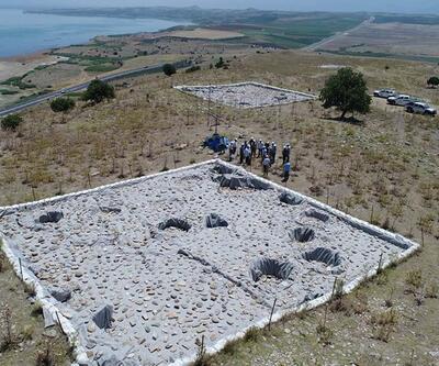 Gölmarmara'da 3 bin 500 yıllık tahıl ambarı bulundu