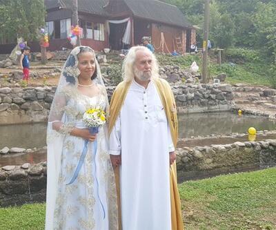 'Mesih'e halayla, horonla düğün: Hasan Mezarcı evlendi