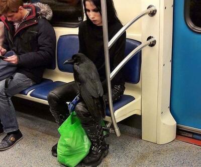 Böyle metro yolculuğu herkese kısmet olmuyor