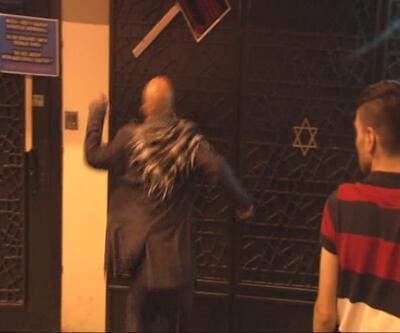 Sinagogu tehdit eden Alperen Ocakları hakkında suç duyurusu