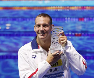 Dressel Phelps'in rekoruna ortak oldu