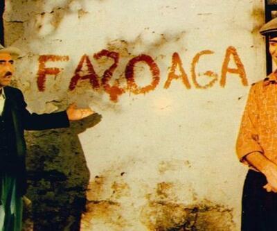 Kibar Feyzo'daki duvar yazısı buzlandı