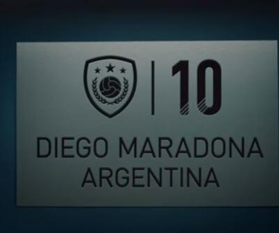 FIFA 18'de Maradona'nın puanları