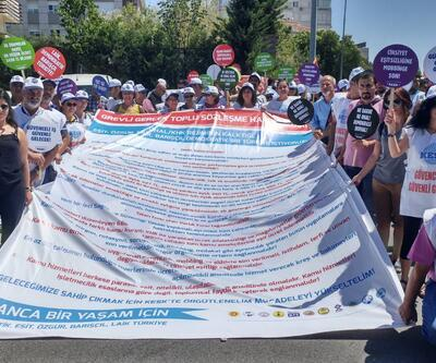 KESK'ten toplu sözleşme görüşmelerine protesto
