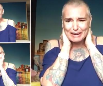 Ünlü şarkıcı Sinead O'Connor'dan endişelendirici video