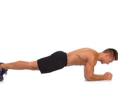 Karın kasları için plank varyasyonları