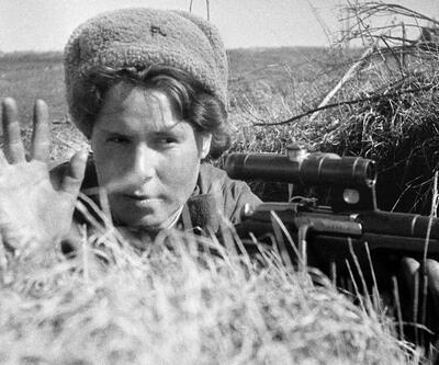 İkinci Dünya Savaşı'ndaki en ölümcül Rus kadın keskin nişancılar