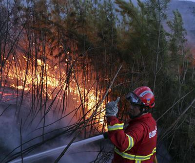 Portekiz'de yangınlar sürüyor