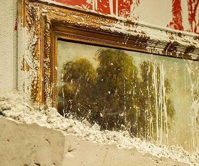 Betona batırılmış Pereda tablosu Pera Müzesi'nde