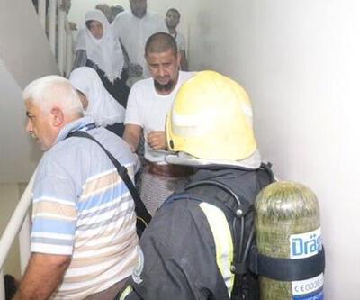 Son dakika... Mekke'de Türk hacı adaylarının kaldığı otelde yangın