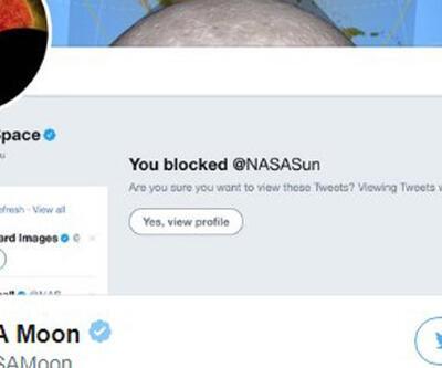NASA 'güneşi' engelledi
